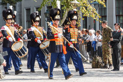 Grenadiers veterans parade Royalty Free Stock Photography