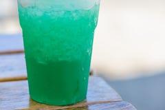 Grenadine mint drink Stock Images