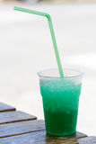 Grenadine mint drink Royalty Free Stock Photos
