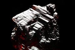 Grenat rougeâtre de Spessartine photographie stock libre de droits