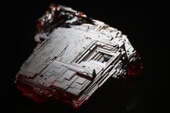 Grenat rougeâtre de Spessartine photo stock