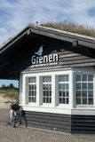 Grenen, северная оконечность Дании стоковая фотография rf