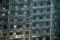 The Grenfell Tower Block Fire Disaster Royalty Free Stock Photo
