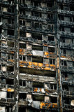 The Grenfell Tower Fire Royalty Free Stock Image