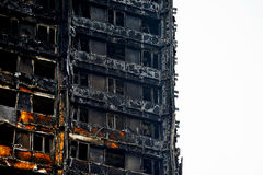 The Grenfell Tower Fire Stock Photography