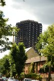 Grenfell tower, London, stock photo
