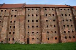 grenier gothique dans Grudziadz Photos libres de droits