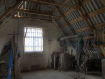 Grenier - image de HDR photo libre de droits