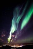 Grenlandzcy północni światła Zdjęcia Stock