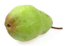 Grenn pear isolated. On white Stock Image