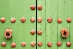 Grenn-Tür Stockfotografie