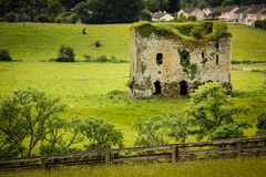 Grennan castle. Thomastown. Ireland Royalty Free Stock Photos