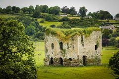 Grennan castle. Thomastown. Ireland Royalty Free Stock Photo