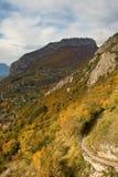 Grenoble-Ansicht Lizenzfreies Stockfoto