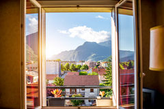 Grenoble city in France Royalty Free Stock Photography