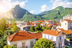 Grenoble City In France Stock Photos