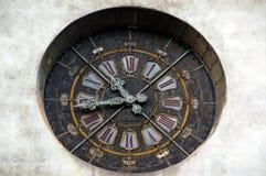 Grenoble clock Stock Photography