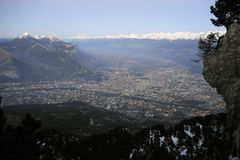 Grenoble. France Royalty Free Stock Photos