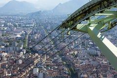 Grenoble, France - 3 royalty free stock photo