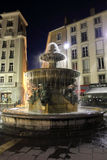 Grenoble at night Royalty Free Stock Photography