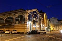 Grenoble at night Stock Photos