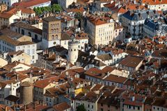 Grenoble old town, France Stock Photos