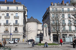Grenoble old town. France Royalty Free Stock Images
