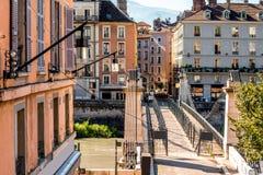 Grenoble stad i Frankrike Arkivbild