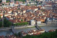 Grenoble stary miasteczko, Francja Zdjęcie Royalty Free