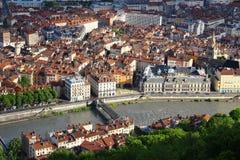 Grenoble stary miasteczko, Francja Fotografia Stock