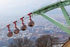 Grenoble view Stock Photos