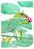 grenouille Photo libre de droits