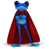Grenouille bleue illustration libre de droits