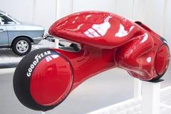Grenouille d'étude de moto Photo libre de droits