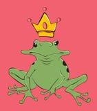 Grenouille de roi Photos libres de droits