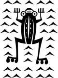 Grenouille ethnique d'étable Images stock