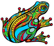 Grenouille magique illustration stock