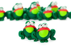 grenouilles Photo libre de droits