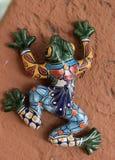 Grenouilles en céramique Guanajuato Mexique Photographie stock