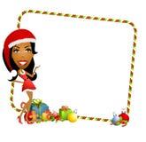 Grens 2 van de Helper van de kerstman vector illustratie