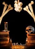 Grens 2 van Halloween Royalty-vrije Stock Foto