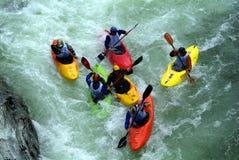 Grens Cayak Rassa Valsesia (VC) - Italië - interneationaltentoonstelling bij 02 06 2007 Stock Fotografie