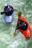 Grens Cayak Rassa Valsesia (VC) - Italië - interneationaltentoonstelling bij 02 06 2007 Royalty-vrije Stock Foto