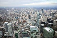 Grens de van de binnenstad van Toronto Royalty-vrije Stock Afbeelding