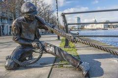 Grensrechter Statue Stock Foto