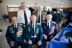 Grenswachtendag in Tcherkassy Royalty-vrije Stock Foto's