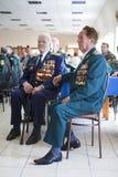 Grenswachtendag in Tcherkassy Royalty-vrije Stock Afbeeldingen