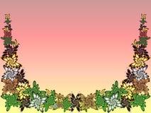 Grenzblumenunterstützung Stockbilder
