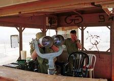 GRENZE ISRAELS DER LIBANON Lizenzfreie Stockfotografie