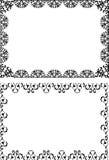 Grenzen en frames Royalty-vrije Stock Afbeeldingen